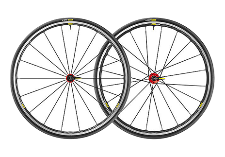 Wheelset Ksyrium Elite 17 Pair M-25